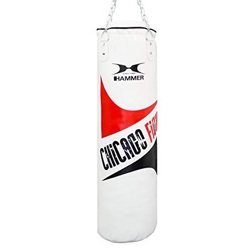 HAMMER Chicago Fight Boxsack, weiß, 100 cm