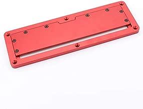 Aleación de aluminio, circular eléctrica, sierra giratoria, placa de cubierta, tapa, mesa cubierta, placa