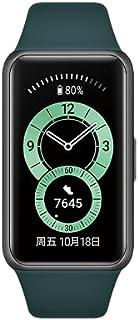 För Huawei Band 6 smart band pulsmätare BT 5.0 sömnövervakning vattentät fitnessmätare för män kvinnor