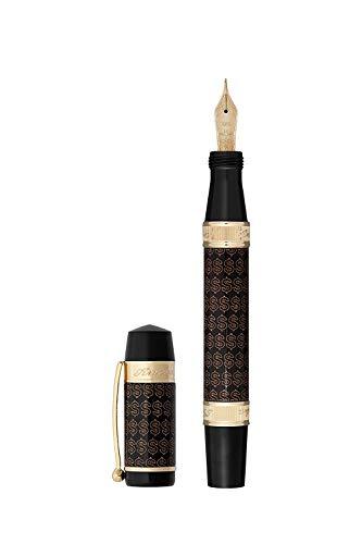 Ancora Dollar - Pluma estilográfica con tinta, edición limitada, bolígrafos de moneda, serie de recambio de tinta para caligrafía, bolígrafo de regalo de negocios