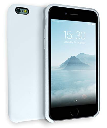 MyGadget Soft Case per Apple iPhone 6 / 6s - Custodia Ultra Morbida e Rigida – Cover Silicone Resistente - Cassa Antiurto e Antigraffio - Blu Chiaro