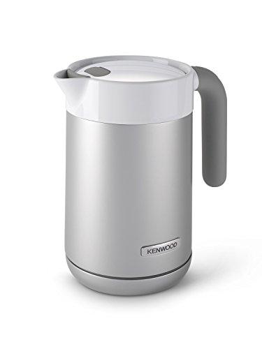 Kenwood ZJM401TT - Bollitore elettrico, capacità 1,6 L, filtro, caraffa rivestita, colore argento