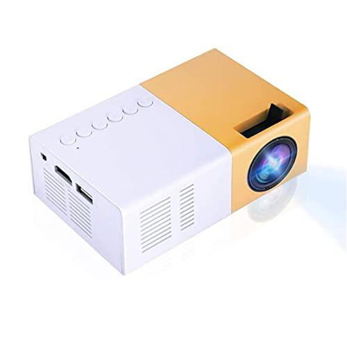 Proyector Led, Mini Proyector Portátil Proyector Led Soporte Hd 1080P Hdmi Vga Av Usb Reproductor Multimedia De Entretenimiento Al Aire Libre (Enchufe De La Ue)
