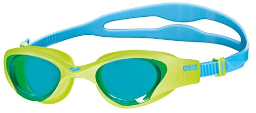 ARENA Kinder Schwimmbrille The One Junior, lightblue-Lime-Blue, Size