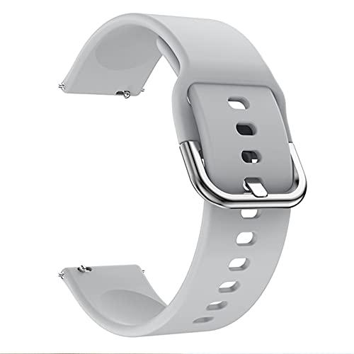 Para Wei Watch GT / GT2 46mm / GT 42mm 46mm reloj inteligente para GT242MM WatchStrap Wheams Wheambands 20mm 22 mm banda de reloj brazalete, reemplazo de banda de reloj de silicona universal
