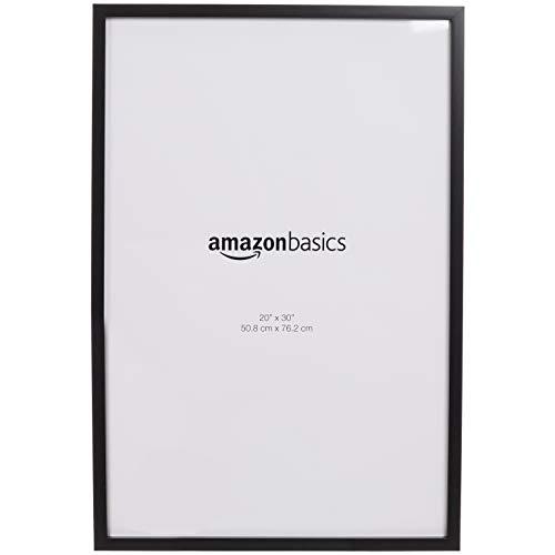 AmazonBasics - Marcos de fotos, 50,8 x 76,2 cm, paquete de 2, negro