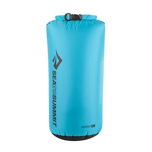 Sea to Summit Lightweight 70D Dry Sack-20 litros Saco Montañismo, Alpinismo y Trekking, Adultos Unisex, Azul (Blue), Talla Única