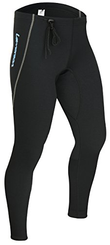 Lemorecn Wetsuits Pants 1.5mm Neoprene Winter Swimming Canoeing Pants(LMP001XXL)