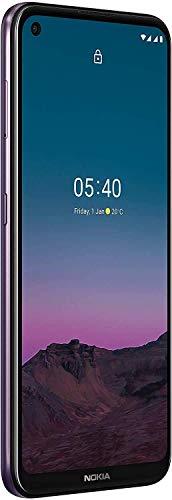 Nokia 5.4 Smartphone mit 6,39-Zoll-HD+-Display, 4 GB RAM, 128 GB Speicher, 48-MP-Vierfach-Kamera, Qualcomm Snapdragon 662, 2 Tagen Akkulaufzeit und Android-Upgrades, Dual-SIM - Dusk - 3
