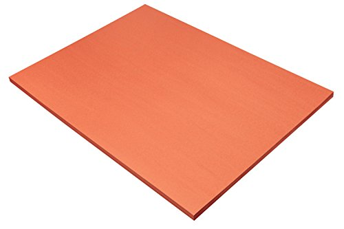 "Pacon SunWorks Construction Paper, 18"" x 24"", 50-Count, Orange (6617)"