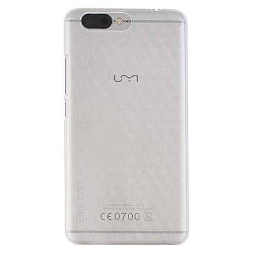 Cases for Phone for UMI Z PC Protective Case Back Cover Shell (Grey) (Color : White)