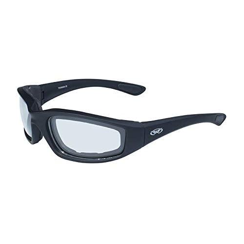 873e0e882f Global Vision Eyewear Men s Kickback 24 Sunglasses with Photochromic Color  Changing Lenses
