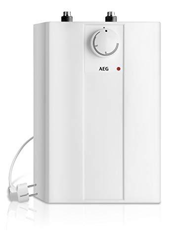 AEG offener Kleinspeicher Huz 5 Basis, steckerfertig, druckloser Anschluss, untertisch, 5l, 2 kW, 222162