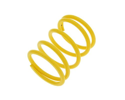 Gegendruckfeder Malossi gelb +7% für Kymco Yager/Spacer 125 (12 Zoll) SH25BB