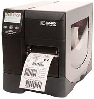 Zebra ZM400-2001-0000T Model ZM400 Thermal Transfer Barcode Printer; 203 dpi/8 dots Resolution, 4.09