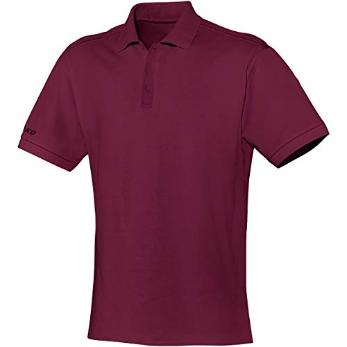 JAKO Herren Polo Team, bordeaux, 4XL