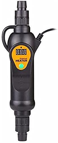Termostato de Calefactor Externo para Acuario Filtro de Recipiente del Tanque de Peces en línea 300W / 500W para la Piscina del Agua del Tanque de Peces en Aumento del oxígeno