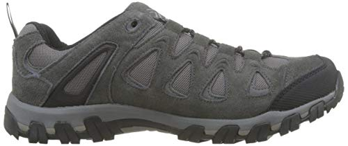 Karrimor Men's Supa 5 Dk Grey Low Rise Hiking Boots, Grey Dark Grey, 7 UK