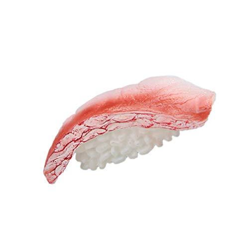 YARNOW Imán de Nevera de Sushi Pegatinas de Nevera de Sushi Imanes Decorativos para Pizarra Blanca Pegatinas Magnéticas para El Hogar Juguetes de Juego de Comida ( Chop Sushi )