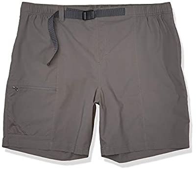 Columbia Men's Trail Splash Shorts, Stain & Water Resistant, Sun Protection, City Grey, X-Large x 10