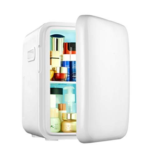 GUTYRE Refrigerador De Belleza, Mini Refrigerador Congelador, Refrigerador Doméstico De Belleza Profesional, Gabinete De Almacenamiento De Cosméticos para El Cuidado De La Piel,Blanco