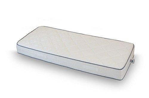 Guisil Materasso H14 Water Foam Poliuretano ESPANSO Ortopedico in Tessuto Anallergico 75X190 Singolo Fuori Misura