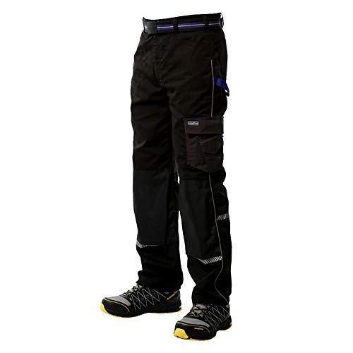 Goodyear GYPNT011 - Pantaloni protettivi per ginocchia, in poliestere/cotone, W36/REG, Nero, 1