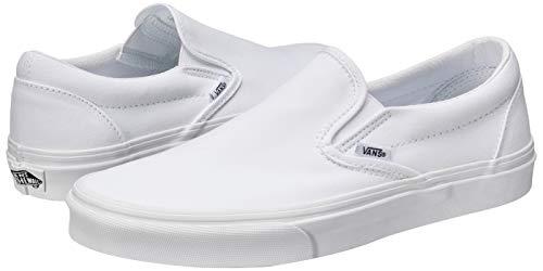 Vans Unisex Classic Slip On True White Sneaker