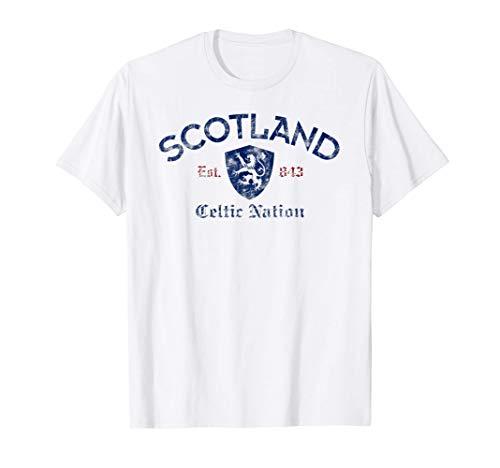 Scotland Celtic Nation Established 843 T-Shirt