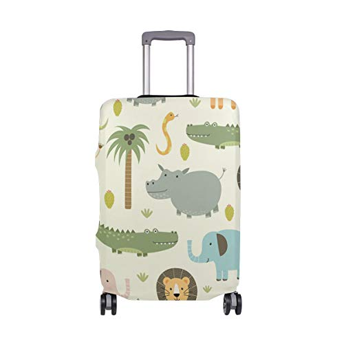 FOLPPLY Funny Banana Luggage Cover Baggage Suitcase Travel Protector Fit for 18-32 Inch