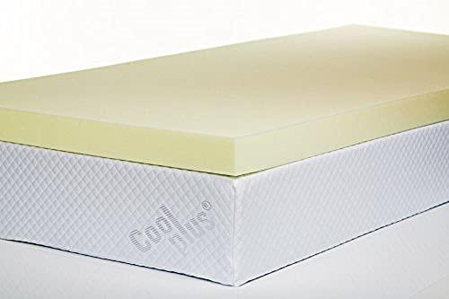 Southern Foam 3 Inch Double Memory Foam Mattress Topper