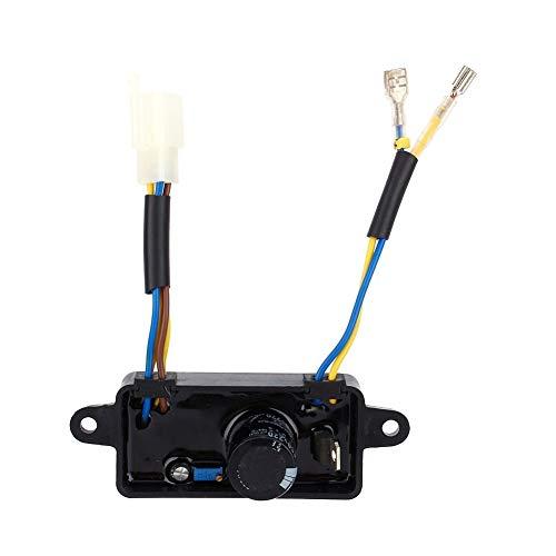 Belissy Regulador de Voltaje de 1pcs AVR monofásico rectificador para 2kW-3KW Generador de Gasolina