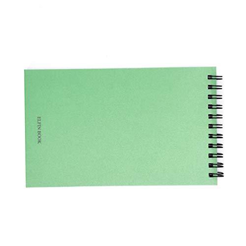 Smart Notebook, wiederverwendbar, langlebig, tragbar, löschbar, Wolkenaufbewahrung, Schule, Zuhause, als Tagebuch, Notizbuch, Schreiben, Memo, 25 Innenseiten – Grasgrün