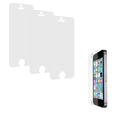 Belkin iPhone SE/5/5s - 3 pack Tempered Glass Screen Protector TrueClear...