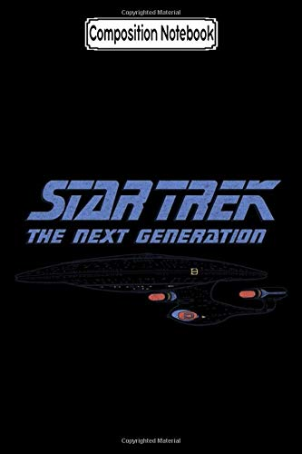 Composition Notebook: Star Trek - Distressed Tng Tv Show Notebook 2020 Journal Notebook Blank Lined Ruled 6x9 100 Pages