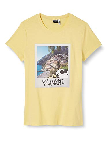 ONLY Damen ONLPEANUTS Life FIT S/S Photo Box JRS T-Shirt, Pineapple Slice, S