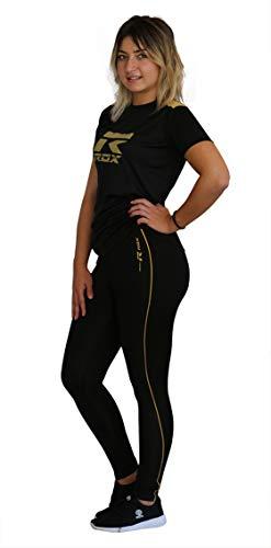 Rox R-Slim Legging pour adulte Noir/fuchsia L Negro / Fuchsia
