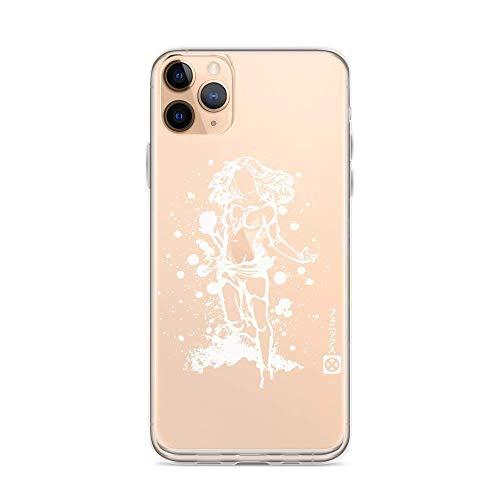 RXDong Clear Custodia per iPhone 11 12 PRO Max XR 6/7/8 SE 2020,con Jean Grey Phoenix Mutant Comic Book X-Men Design Protettivo Antiurto Personalised Phone Covers