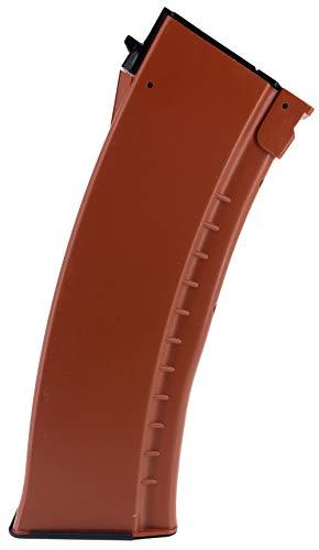 SportPro 500 Round Polymer AKM Style High Capacity Magazine for AEG AK47 AK74 Airsoft - Brown