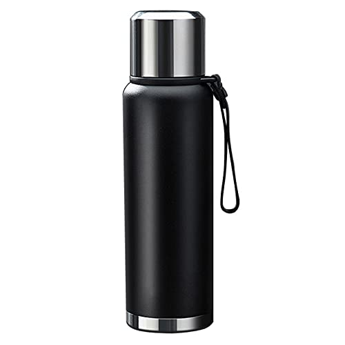 Water Bottle Simple Modern Classic Stainless Steel Double Wall Insulated Reusable Water Bottle