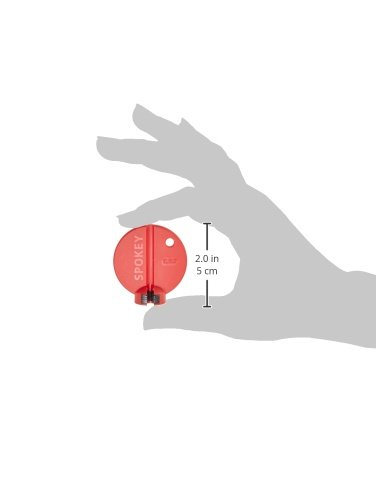 KLICKfix Speichenspanner Spokey Professional 3.25 Rot, One Size - 2