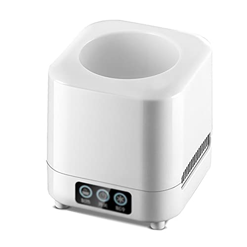 Beverage Cooler Cup Fast Car Heating Cup Refrigeration Cup Fast Milk Warmer Home Heating Cup (Color : White, Size : 380ml)