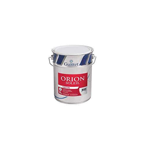 ORION SOLEIL SATIN - GUITTET - Peinture - Laque glycéro Blanc - Satiné 3.00Litre