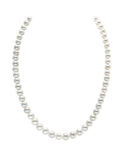 The Pearl Source   14 carati  Oro bianco  Rotonda perla cinesa da coltivazione  Perla