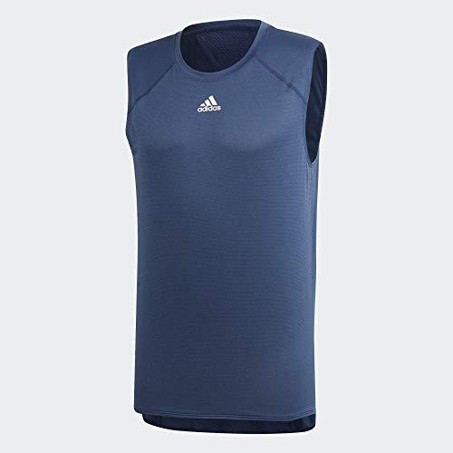 adidas Heat.Rdy SLVS Camiseta De Tirantes, Hombre, indtec, L