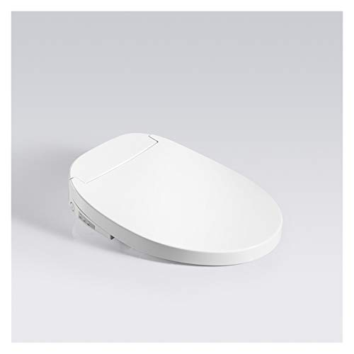 Asientos de inodoro de cierre suave Cubierta Oval Fácil de limpiar, fijación superior, liberación rápida y cierre lento suave Cierre automático, asientos premium con bisagras ajustables de acero inoxi