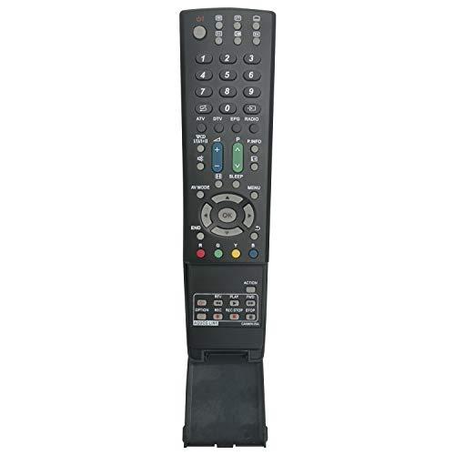 VINABTY GA586WJSA Mando a Distancia de Repuesto para Sharp LCD AQUOS TV LC-32DH77E LC-32DH77S LC-32G20E LC-37D653E LC-37G20E LC-37X20E LC-37XL8E LC-40DH77E LC-40LE600E LC-32B20E LC-32D65E LC-32DH66E