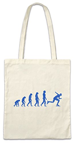 Urban Backwoods Speed Skating Evolution Hipster Bag Beutel Stofftasche Einkaufstasche