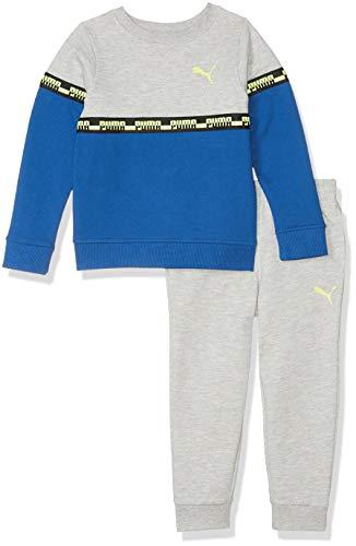 PUMA - Sudadera con Capucha para niño, Azul Galaxia, 6