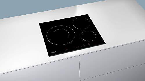 CATA IB 6030 BK (Integrado, con Placa de inducción, Negro, 1200 W, Alrededor, 16 cm), 2700 W, Vidrio, Acero Inoxidable